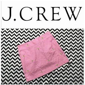 J. Crew dragonfly mini skirt